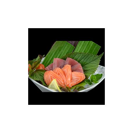12p Sashimi duo saumon et thon