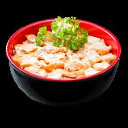 Chirashi poulet frit