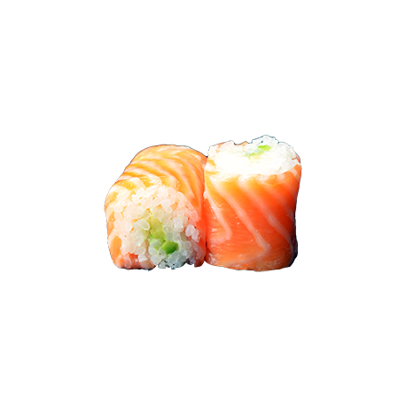 Saumon roll avocat 6p