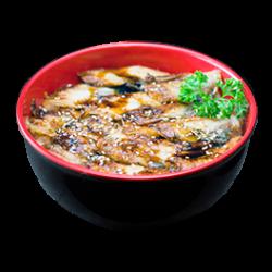 Chirashi anguille grillée