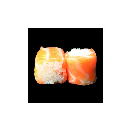 Saumon fumé roll 6p
