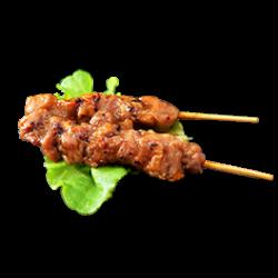 Brochette de poulet 2p